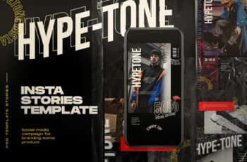 HYPE=TONE - Instagram Post & Stories 4064555