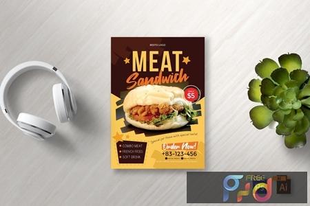 Food Flyer Vol 8 5UX7E9K 1
