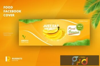 Fruit Store Facebook Cover Template 64KYT3A 2
