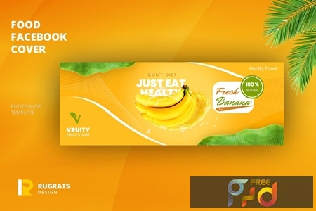 Fruit Store Facebook Cover Template 64KYT3A 1