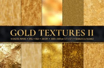 10 Seamless Gold Foil Metallic Textures 1738430 3