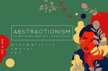 Abstractionism Graphic Set 1738587 2