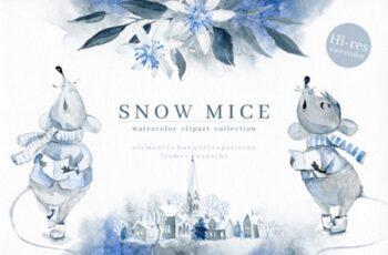 Snow Mice 1738605 7