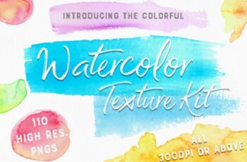 The Colourful Watercolour Kit 1738445 3