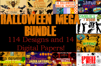 Halloween Mega Bundle - All Halloween Items in Shop PLUS Bonus! 637441 6