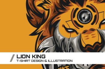 Lion King T-Shirt Illustration 1738088 5