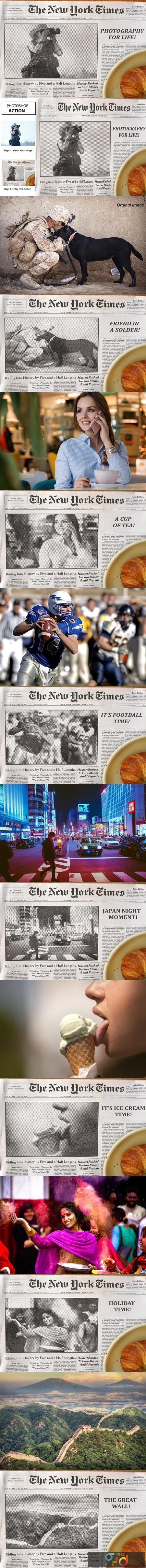 Newspaper Headline - Ps Action 3761341 1