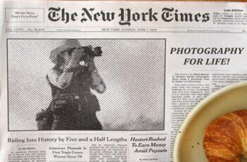 Newspaper Headline - Ps Action 3761341 6