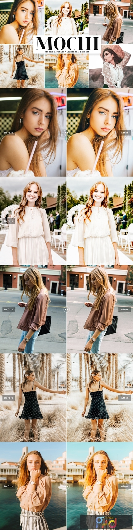 Mochi Lightroom Presets Pack 4079756 1