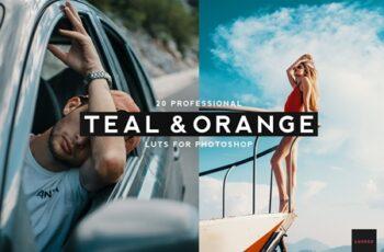 20 Professional Teal & Orange LUTS 4061026 3