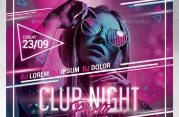 Club Night Party Flyer 24430389 7