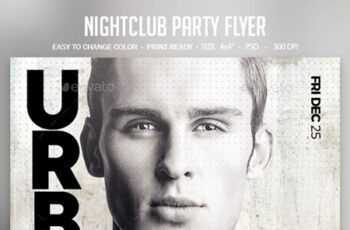 Nightclub Party Flyer 24434508 1