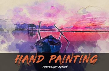 Hand Painting Photoshop Action 3991312 5