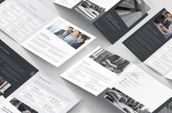 Lawyer – Brochures Bundle Print Templates 5 in 1 24245507 3
