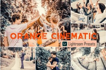 Orange Cinematic LR & ACR Presets 4068114 7