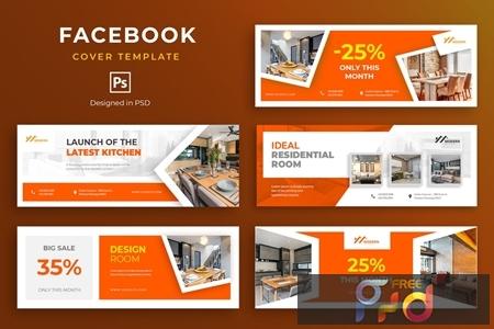 Furniture Facebook Cover Template JP6EM8F 1