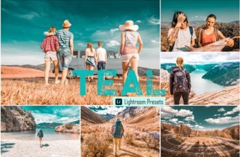 Teal Photoshop & Lightroom Presets 4068144 2