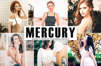 Mercury Mobile & Desktop Lightroom Presets SKG5EWV 2