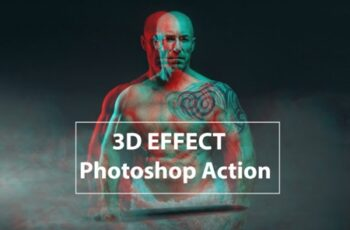 3 D Effect - Photoshop Action 1760831 7