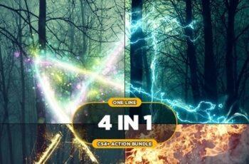 One Line 4 in 1 CS4+ Action Bundle 24334164 7
