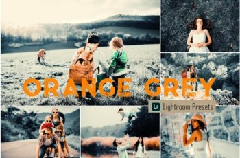 Orange Grey LR Mobile & ACR Presets 4093262 7