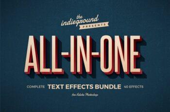 Retro Text Effects Complete Bundle 3956949 8