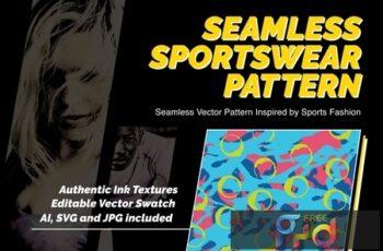 Retro Lines Abstract Patterns V. 02 ENSTSKW 8