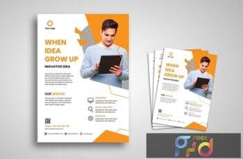 Professional Flyer Promo Template WULCDX7 5