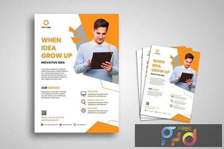 Professional Flyer Promo Template WULCDX7 1