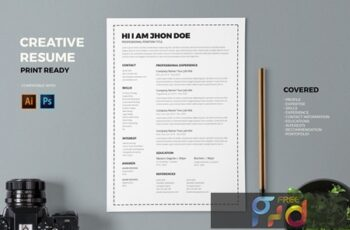Resume CV Template Pro N86FKPW 4