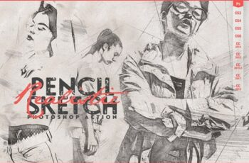 Realistic Pencil Sketch CS3+ 4065726 7