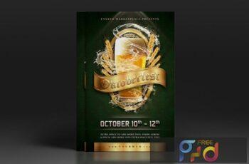 Oktoberfest Flyer Poster 5WZ9KN7 2