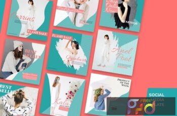 Social Media Kit Fashion Minimalis ZHWTXGR 6