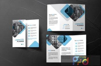 Urban Trifold Brochure HRP37ZJ 1