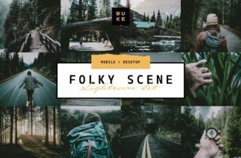 5 Folk Moody Lightroom Presets Pack 4054593 5