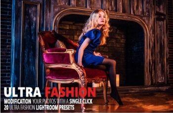 Ultra Fashion Lightroom Presets 24487008