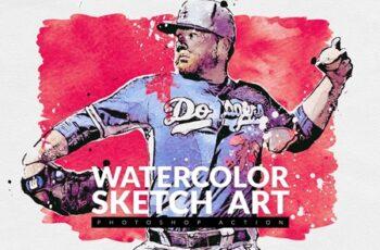 Watercolor Sketch Art 4091950 7