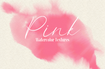 Pink - 45 Watercolor Textures 1750134 6