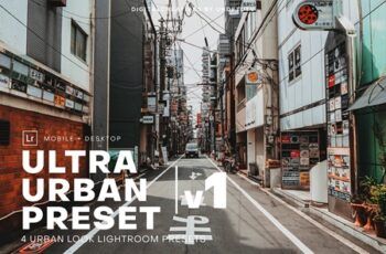 Ultra Urban Lightroom Preset Pack v1 4101811 5