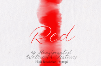 Red - 45 Watercolor Textures 1750148 4