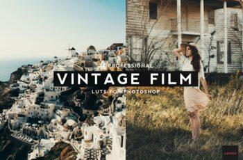 20 Professional Vintage Film LUTS 4096366