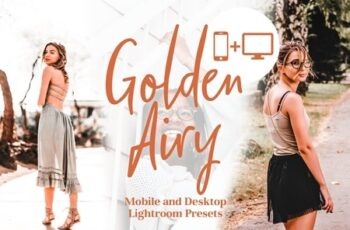 Golden Airy - Lightroom Presets 4043939 3