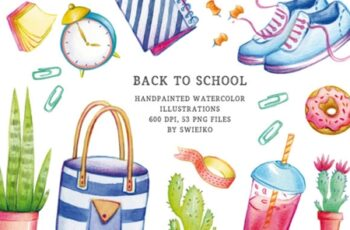 Back to School Illustration Set 1749376 5
