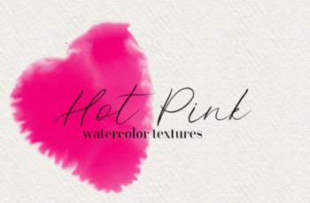 Hot Pink 45 Watercolor Textures 1749696 3