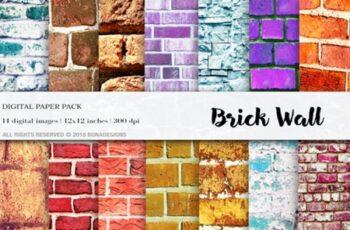 Wall Digital Paper Pack 1748810 8
