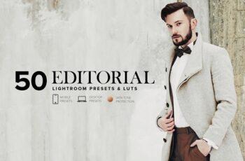 50 Editorial Lightroom Presets +LUTs 4130485 5