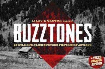 Buzztones - Photoshop Duotone Action 4097023 2
