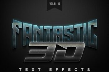 3D Text Effects Bundle Two 22589005 3