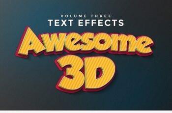 3D Text Effects Vol.3 11477848 7