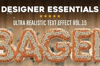 Designer Essentials Ultra Realistic Text Effect Vol.15 21086005 3